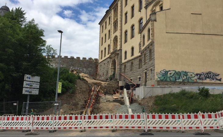 Schlossterrassen Plauen 1 Bauabschnitt