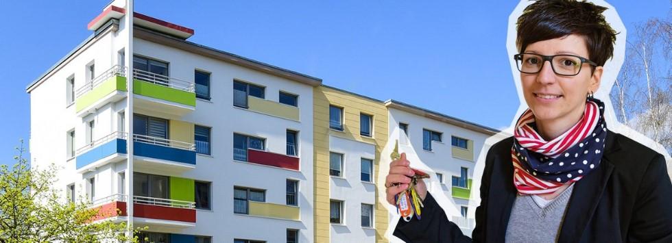 Wohnen in Plauen – beim größten Vermieter des Vogtlandes