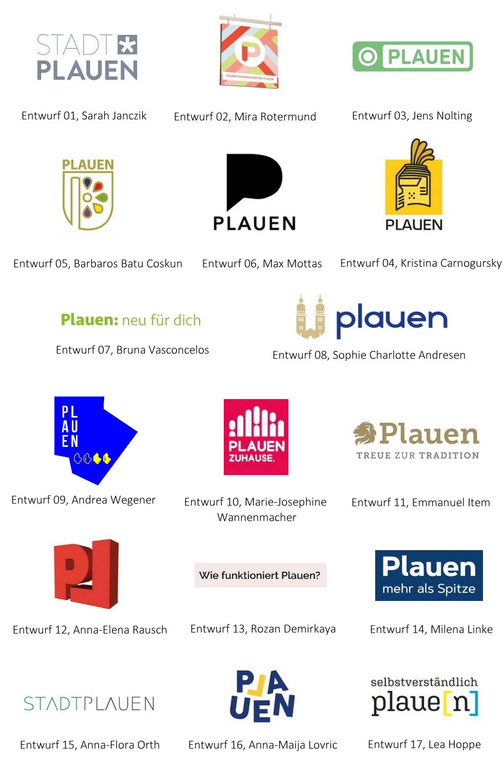 Logo Ideen Plauen 2022