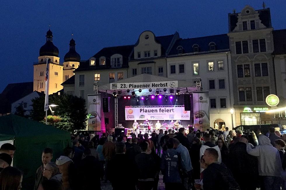 Stadtfest Plauener Herbst wird nicht abgesagt