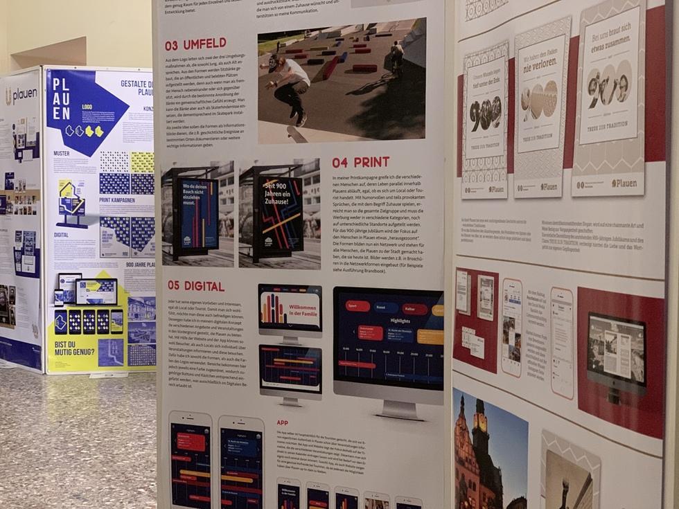 Stadtlogo Plauen Ausstellung Rathaus