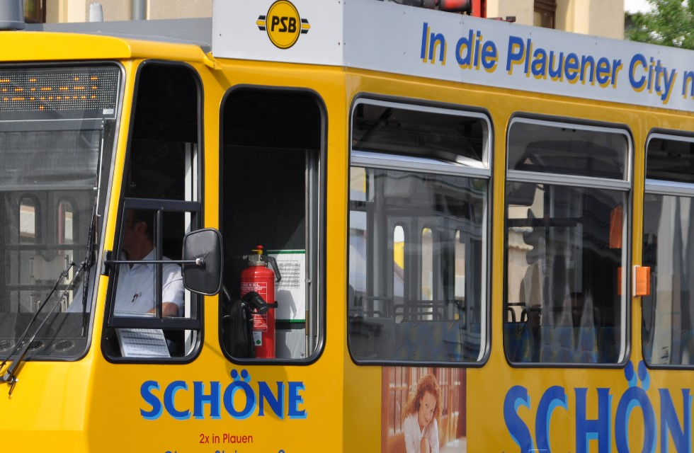 Straßenbahn Plauen erweitert RufBus-Service
