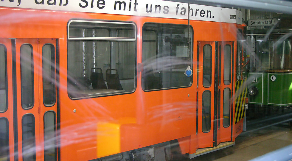 Scratching in der Plauener Straßenbahn