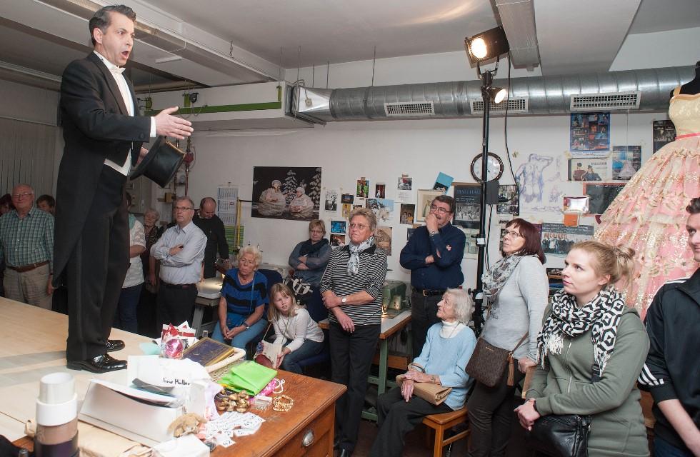 Vogtlandtheater Plauen bietet Theaterrundgang der besonderen Art