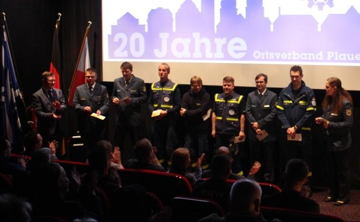 THW Plauen feiert 20 Jahre Ortsverband