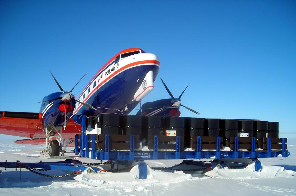 Vogtländisches Unternehmen startet Serviceeinsatz am Südpol