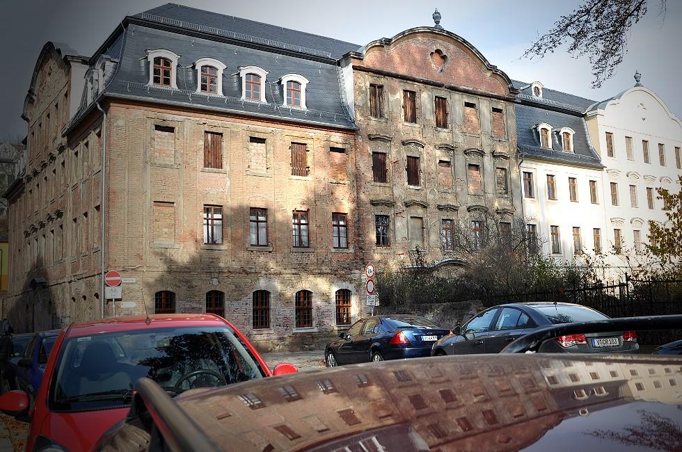 Arbeiten am Weisbachschen Haus starten