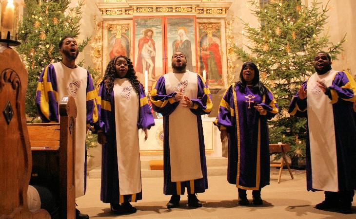 the glory gospel singers in plauen