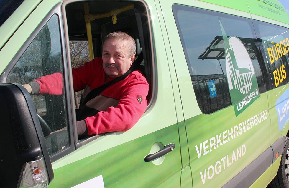 Bürgerbus-Vogtland-Jahresjubiläum