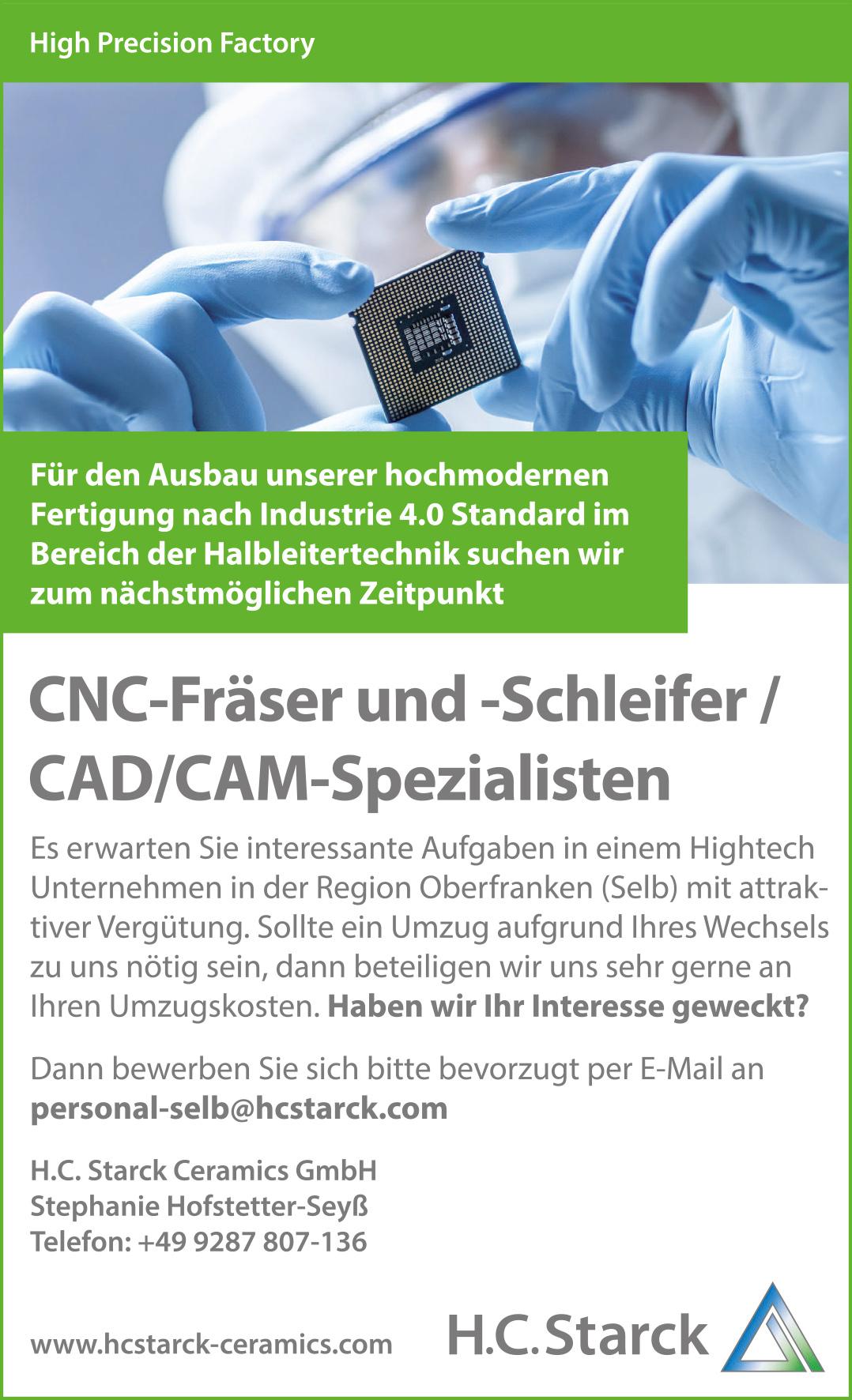 CNC-Fräser-Schleifer-Vogtland