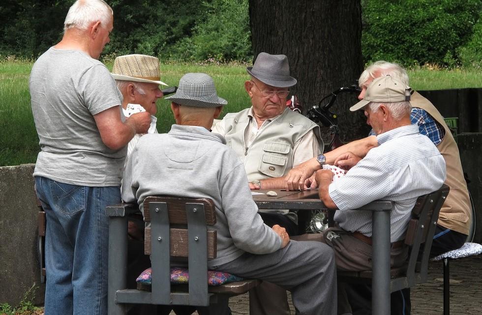 Pensionäre-offline-Spielen-Karten-Kartenspiel