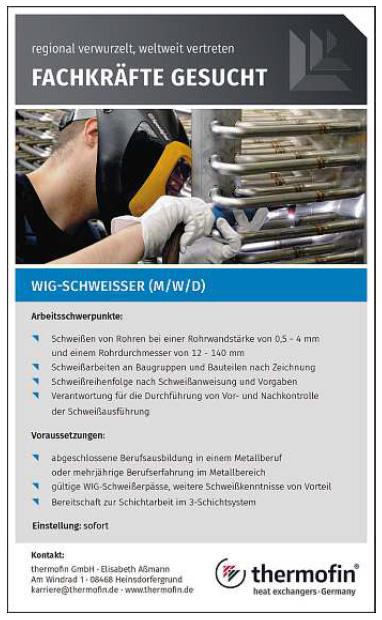 WIG-Schweisser-Vogtland-Heinsdorfergrund