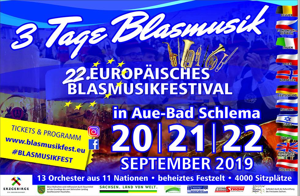 3 Tage Blasmusik - 22. Europäisches Blasmusikfestival