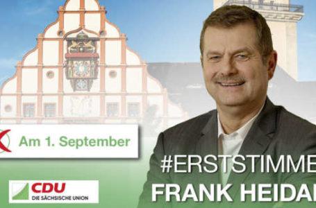 Landtagswahl 2019 – #Erststimme Frank Heidan