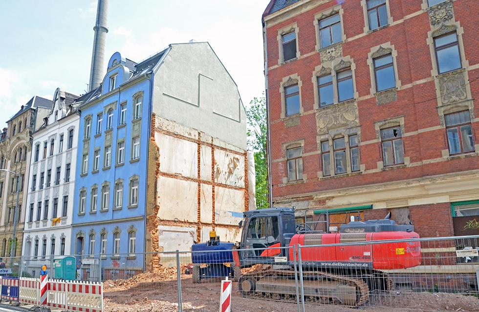 Hammerstraße-Abriss-Plauen