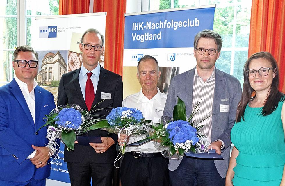 IHK-Ehrennadel-Vogtland-Plauen-Ehrung