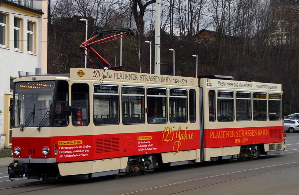 Plauener-Strassenbahn-Plauen-125 Jahre-Jubiläum-Vogtland-Spitzenstadt