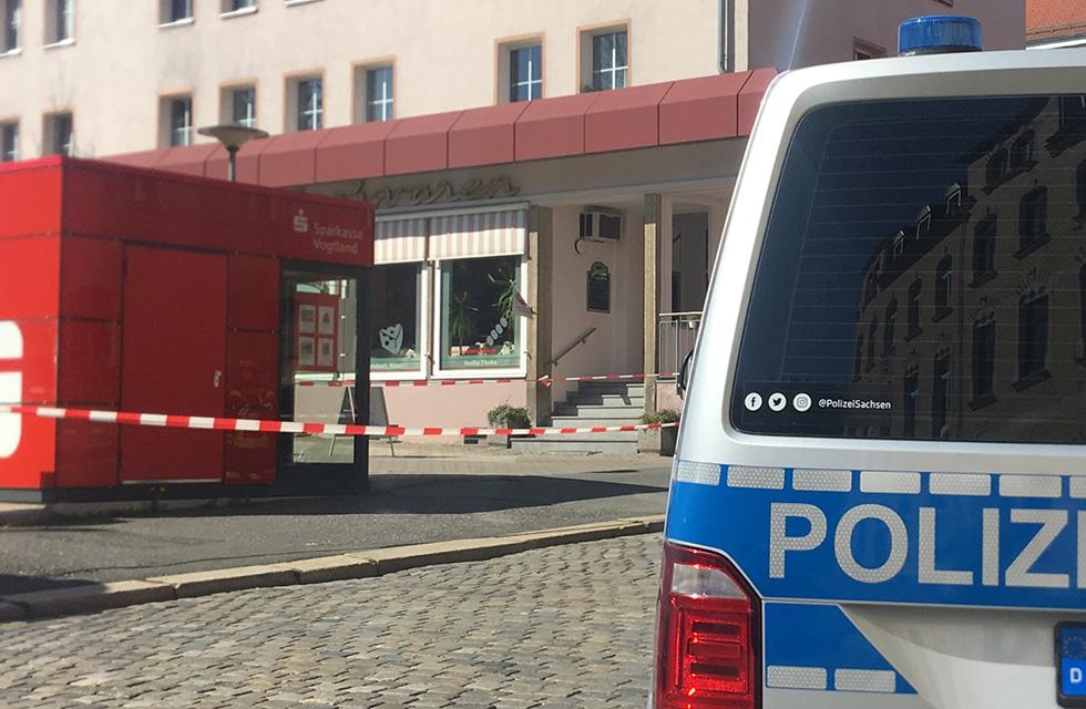 Polizei-Plauen-Absperrung-Spitzenstadt-Vogtland