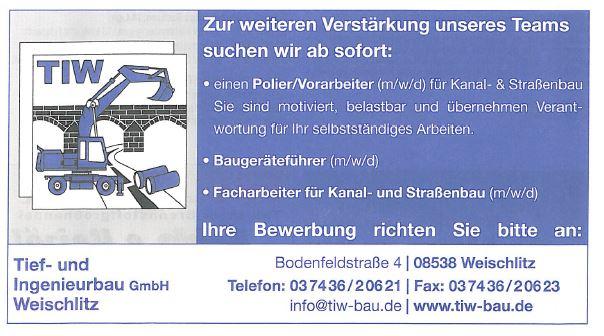 Spitzenjob-Baugeräteführer-Plauen-Vogtland-Stellenanzeige-Weischlitz
