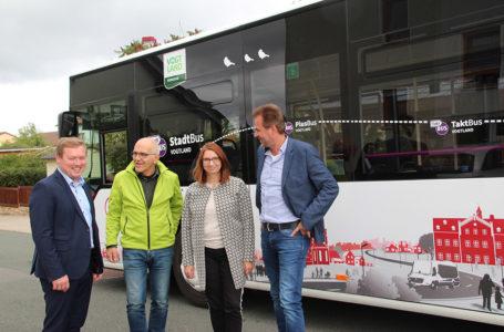 StadtBus fährt zu den Bürgern in die Wohngebiete
