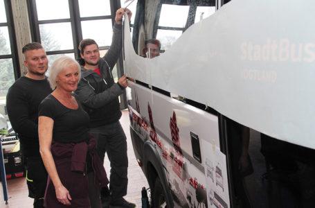Vogtlandnetz: Neu gestaltete Busse sind ein Hingucker