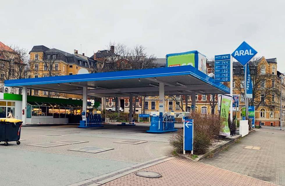Tankstelle-Plauen-Überfall