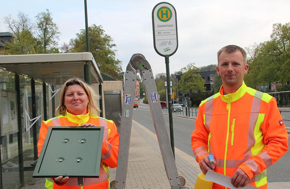 VVV-Vogtland-Bushaltestellen-Umgestaltung