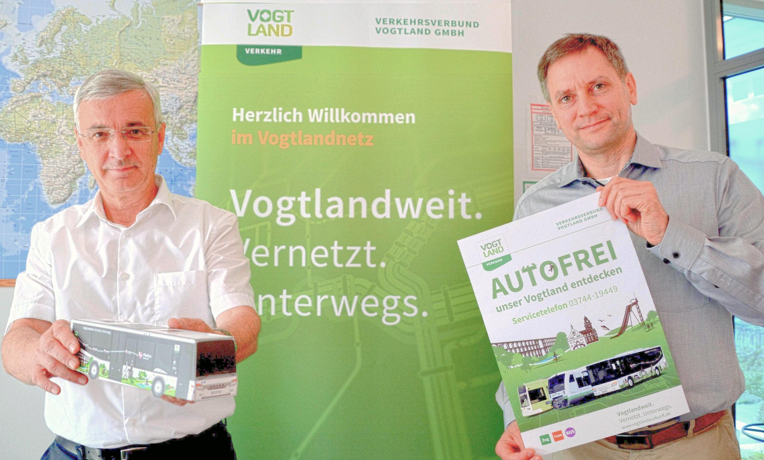 Vogtland-Landrat-Rolf Keil-VVV-Geschäftsführer-Michael Barth