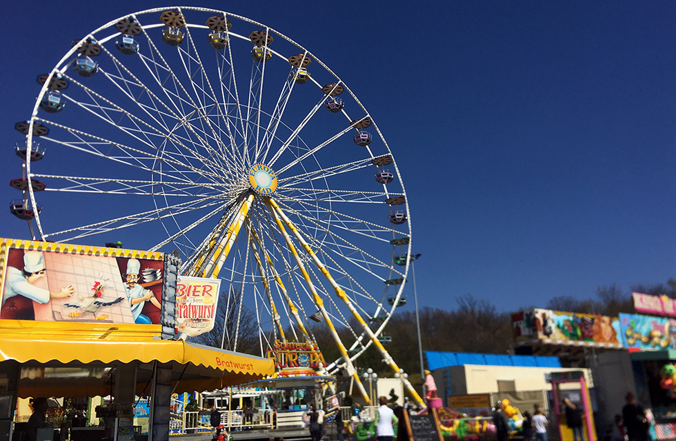 Volksfest-Rummel-Plauen-Festplatz