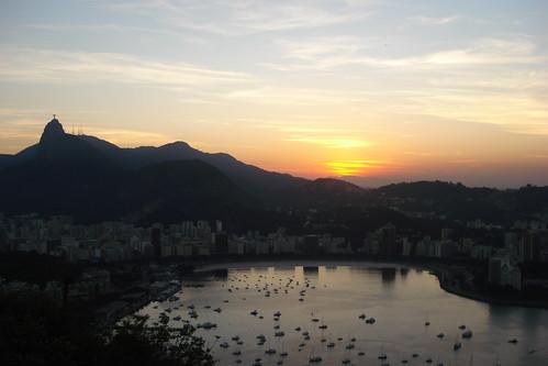 Brasil Rio de Janeiro Atardecer