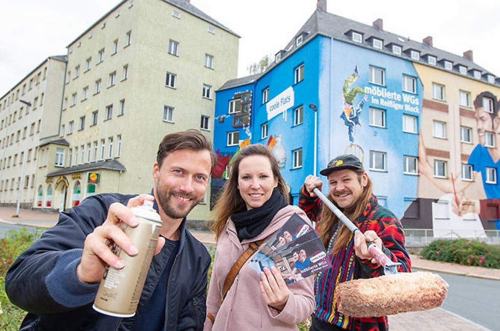 Neuer Blickfang in Plauen enthüllt