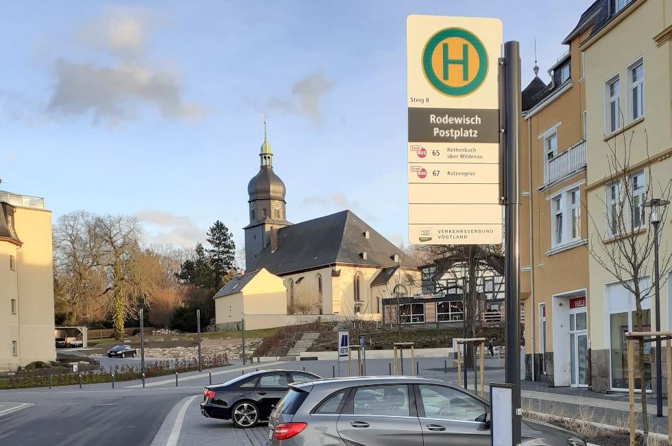 Haltestellenschilder im Vogtland werden neu gestaltet