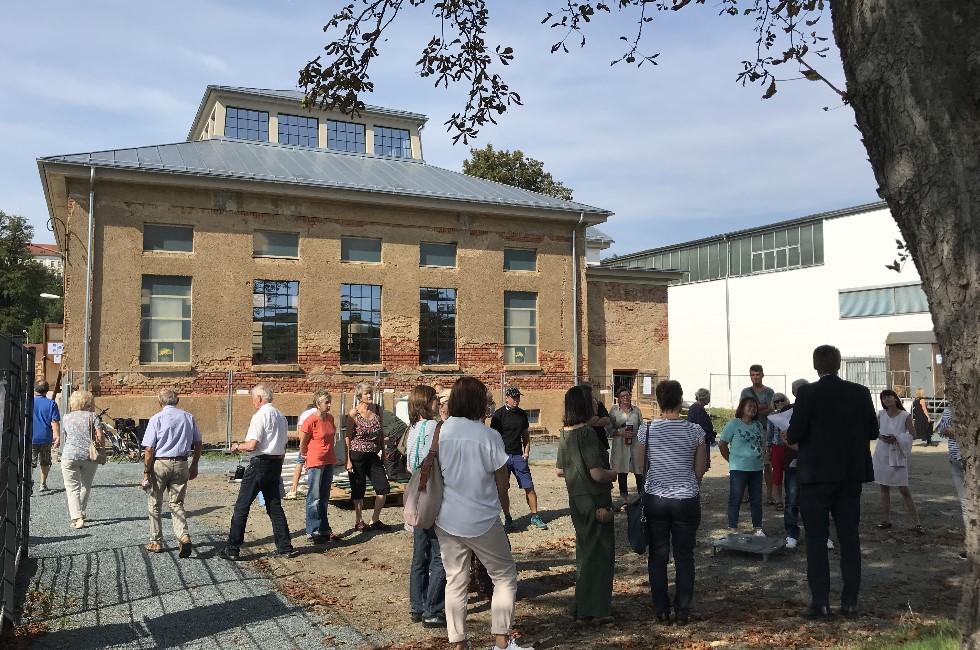 Industriepavillon in Plauen zum Denkmaltag geöffnet