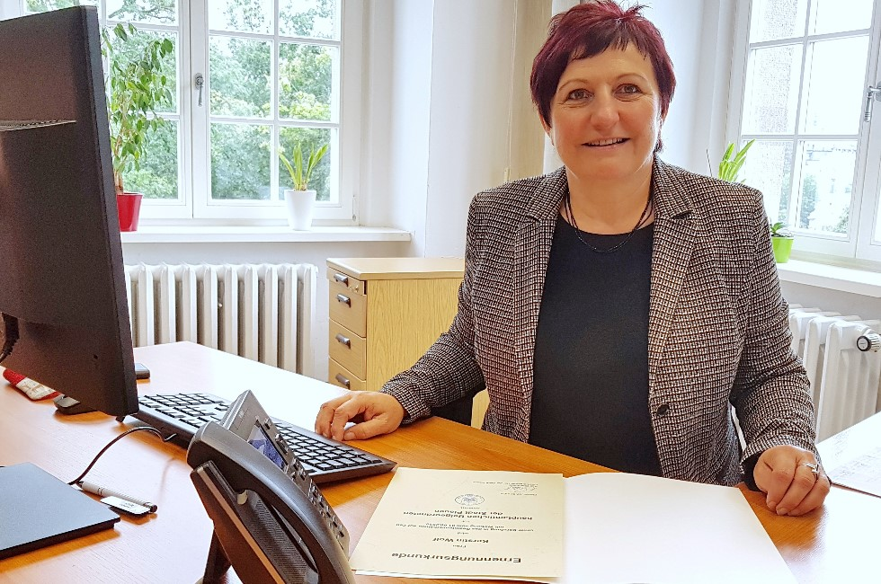Kerstin Wolf in Plauen neue Baubürgermeisterin
