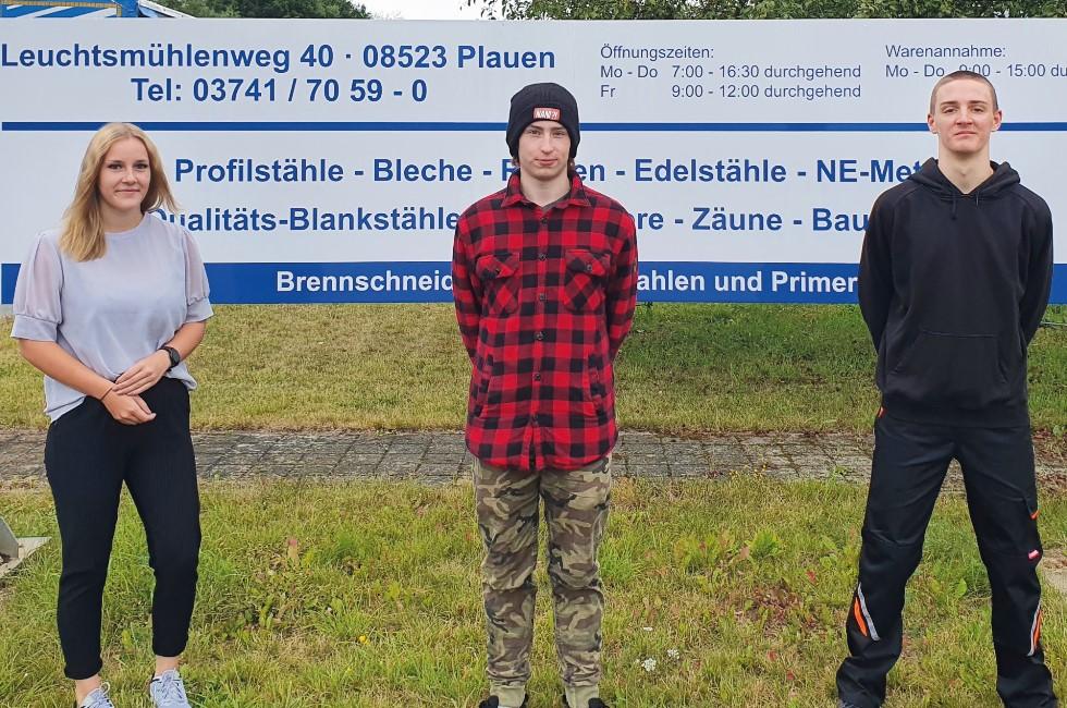 Köstner Stahlzentrum in Plauen - Mit Schwung in die Ausbildung