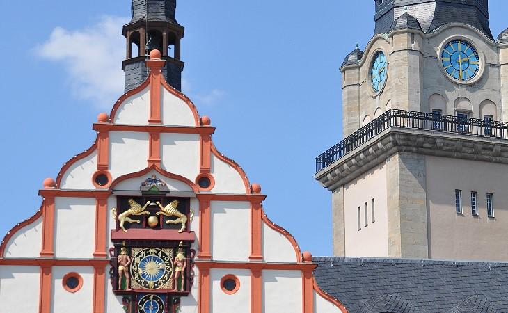 Das Alte Rathaus in Plauen