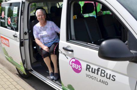 RufBus im Vogtland wird immer beliebter