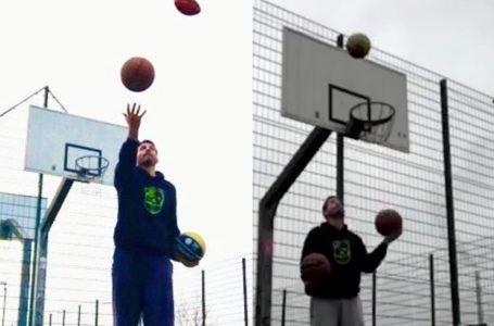 Plauener gewinnt Basketball-Lockdown-Challenge