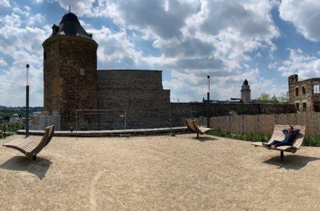 Vandalismus auf dem Schlossberg in Plauen