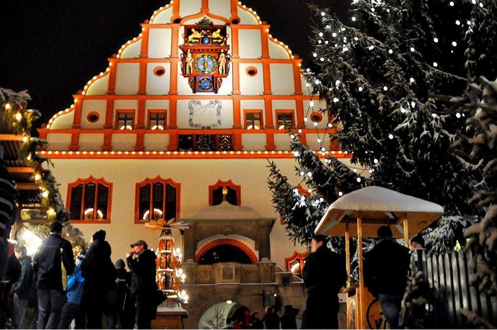 Plauen 2020 ohne Weihnachtsmarkt