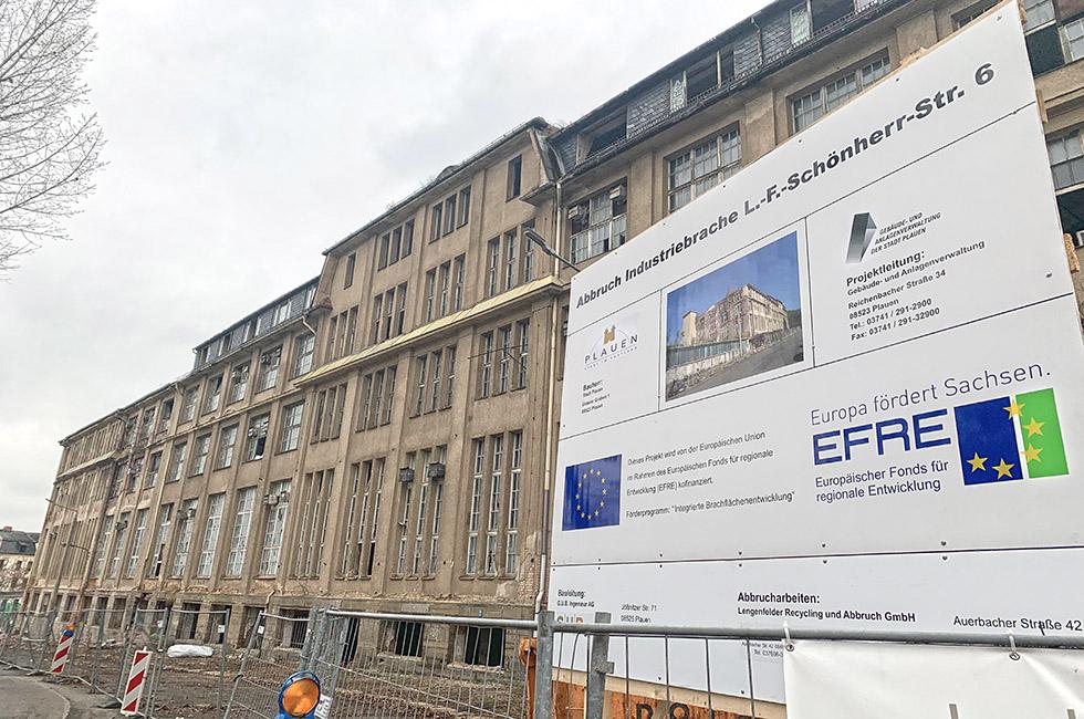 Abbruch-Industriebrache-Plauen-Schönherr-Straße