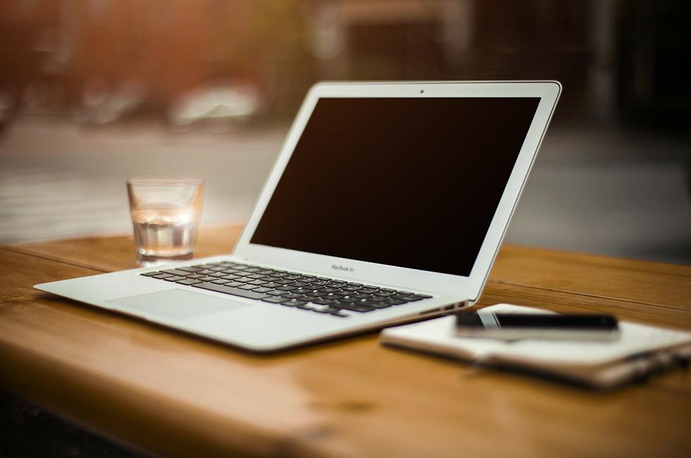 Computer-Blog-Office-Büro