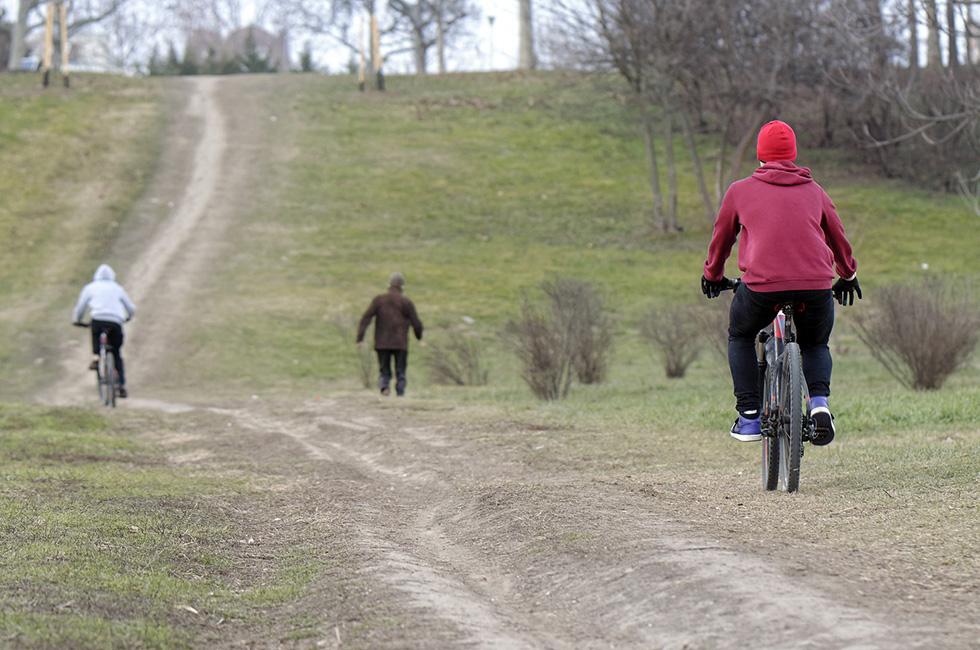 Fahrrad-fahren-Vogtland-Winter