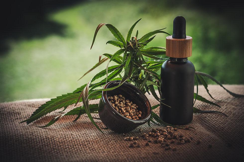 Medizin-CBD-Produkte-Öl-Hanfprodukte