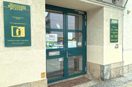 Vogtlandbibliothek in Plauen weiterhin geschlossen