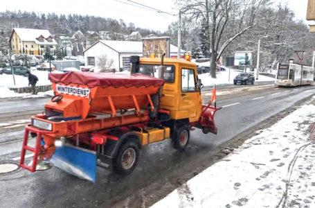 So läuft der Winterdienst in der Stadt Plauen