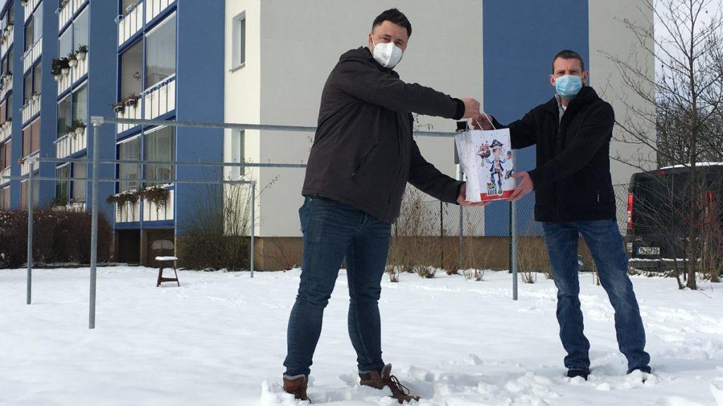 Mann rettet in Plauen Seniorin