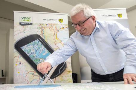 Behördliches Geoportal im Vogtland mit neuen Funktionen