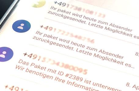 Fake-SMS verunsichert Vogtländer
