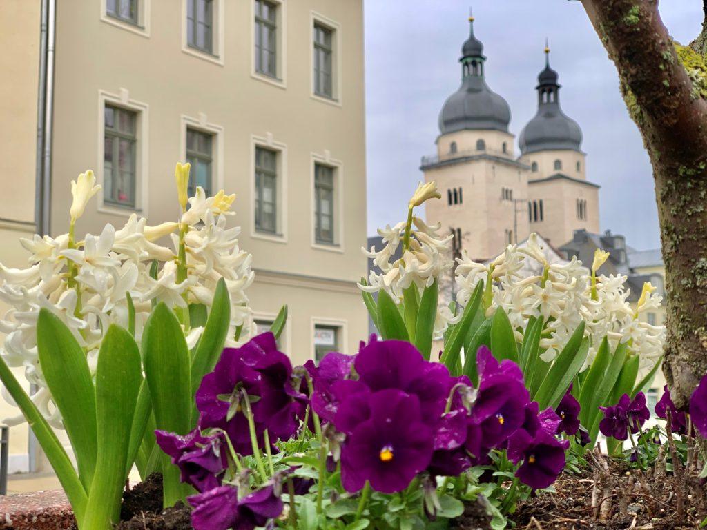 Frühlingsgrüße aus der Spitzenstadt Plauen